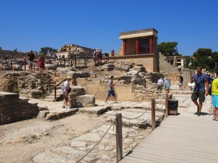 Греция, о.Крит. Кносский дворец