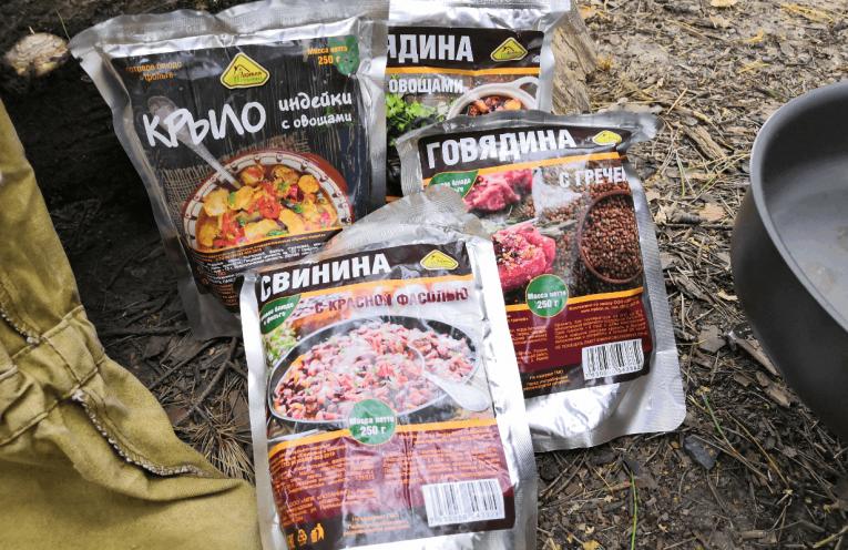 Обзор еды в реторт-пакете от «Деревня Потанино»